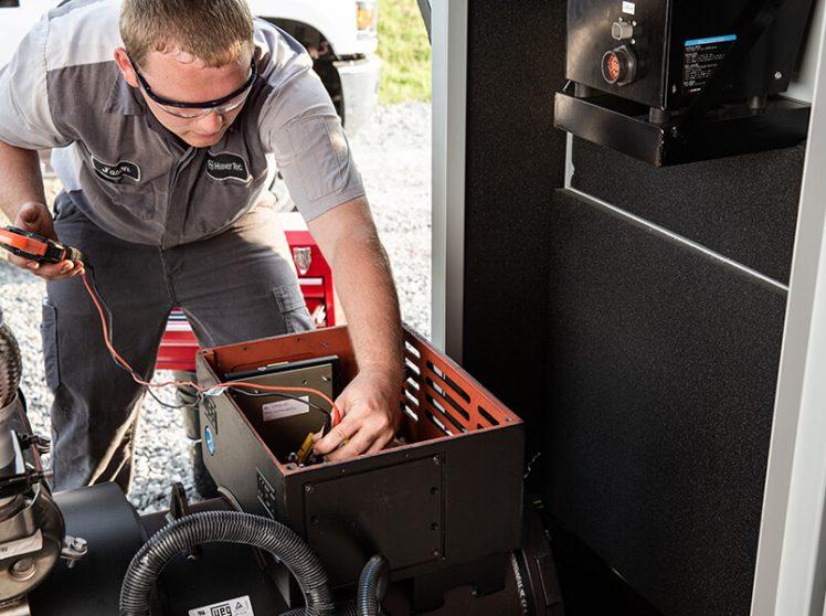 Emergency tech for generators